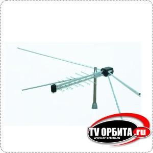 Антенна ЛОГОС-11 (МВ,ДМВ) наружная четырехлучевая