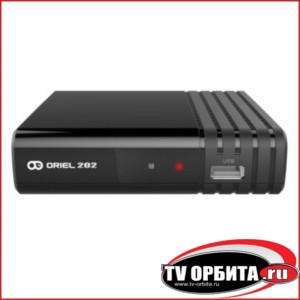 Приставка цифрового ТВ (DVB-T2) Oriel 202