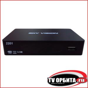 Приставка цифрового ТВ (DVB-T2) -  Sky Vision T2201