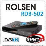������� ��������  ������� ROLSEN (DVB-T, DVB-T2) RDB-502