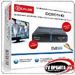 D-COLOR DC901HD - миниатюрный DVB-T2 ресивер