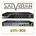 Видеорегистратор 8-канальный Satvision SVR-806